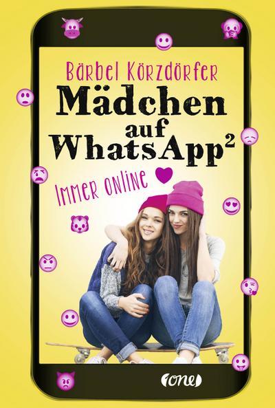 Mädchen auf WhatsApp 2 - Immer online