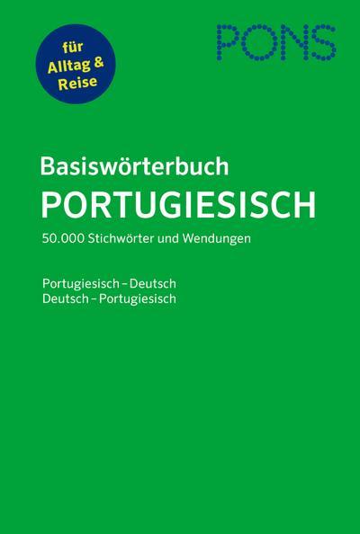 PONS Basiswörterbuch Portugiesisch: Portugiesisch-Deutsch / Deutsch-Portugiesisch