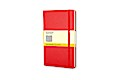 Moleskine classic Red Cover, Pocket Size, Squared Notebook
