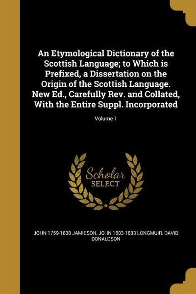 ETYMOLOGICAL DICT OF THE SCOTT