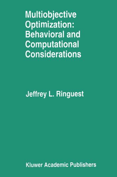 Multiobjective Optimization: Behavioral and Computational Considerations