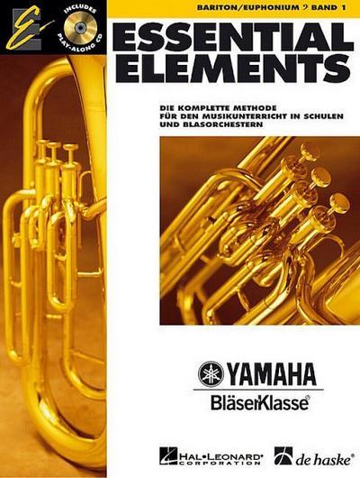Essential Elements, für Bariton/Euphonium, m. Audio-CD