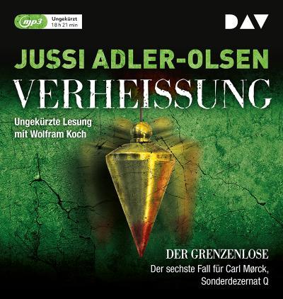 Verheißung. Der Grenzenlose; Ungekürzte Lesung mit Wolfram Koch (2 mp3-CDs); Übers. v. Thies, Hannes; Deutsch; 2 mp3-CDs, Laufzeit ca. 980 min
