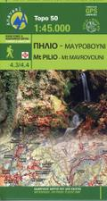 Mt Pilio - Mt Mavrovouni 1 : 45 000