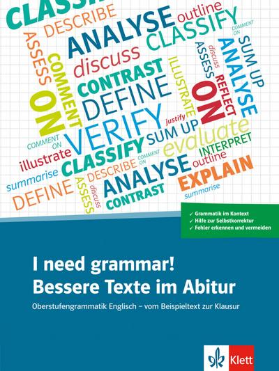 I need grammar! Bessere Texte im Abitur