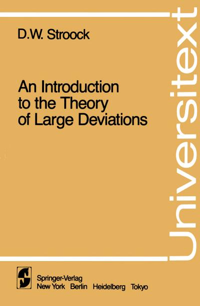 Introduction to the Theory of Large Deviations