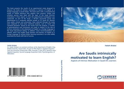 Are Saudis intrinsically motivated to learn English?