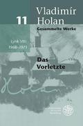 Lyrik VIII: 1968-1971