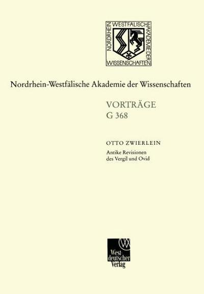 Antike Revisionen des Vergil und Ovid