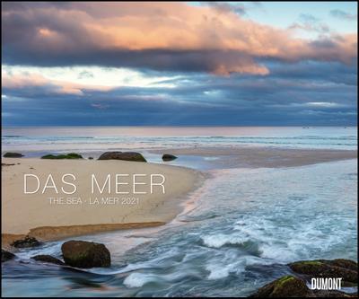 Das Meer 2021 - Natur-Fotografie - Wandkalender 58,4 x 48,5 cm - Spiralbindung