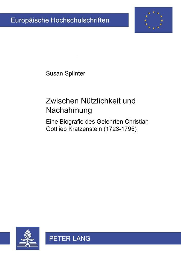 Zwischen Nützlichkeit und Nachahmung ~ Susan Splinter ~  9783631569580