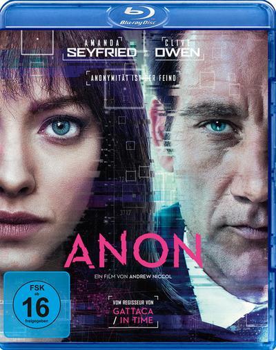 Anon, 1 Blu-ray