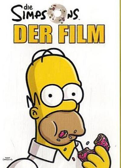 Die Simpsons, Der Film, 1 DVD, deutsche u. englische Version