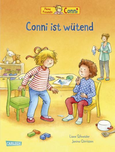 Conni-Bilderbücher: Conni ist wütend