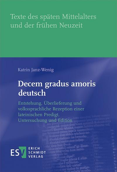 Decem gradus amoris deutsch