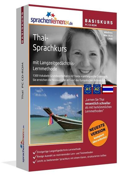 Sprachenlernen24.de Thai Basis PC CD-ROM
