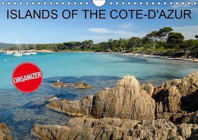 Islands of the Côte-d'Azur (Wall Calendar 2019 DIN A4 Landscape)