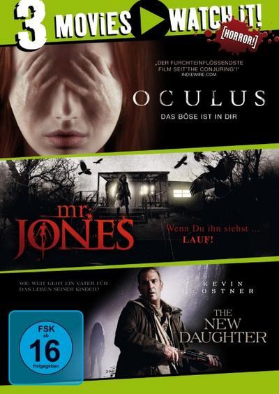 Oculus / Mr. Jones / The New Daughter DVD-Box