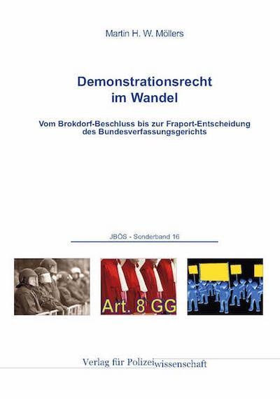 Demonstrationsrecht im Wandel: Vom Brokdorf-Beschluss bis zur Fraport-Entscheidung des Bundesverfassungsgerichts