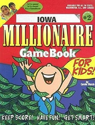 Iowa Millionaire Game Book for Kids!: Game Book #2