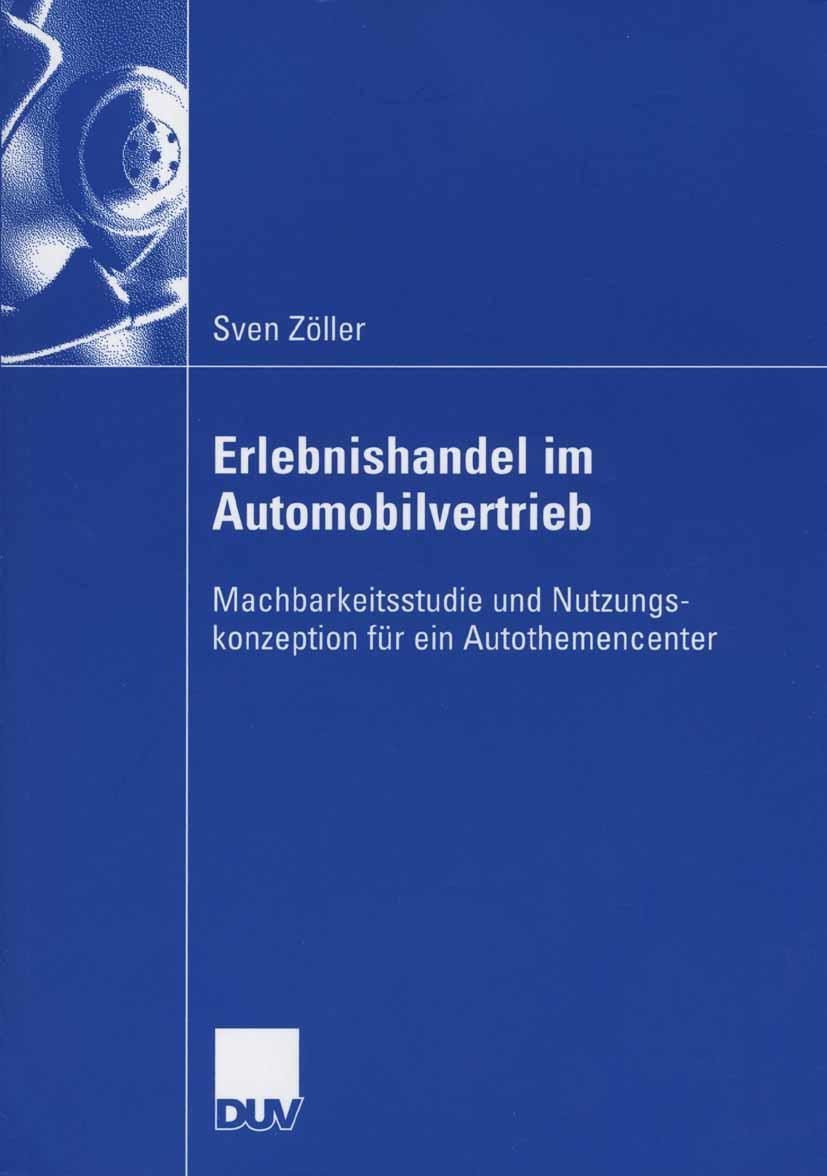 Erlebnishandel im Automobilvertrieb Sven Zöller