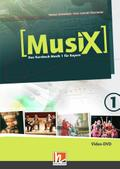 MusiX 1. Video-DVD. Ausgabe BG (Bayern Gym Lehrplan Plus)