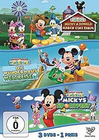 Micky Maus Wunderhaus - Mickys Sportfest & Die Wunderhaus-Weltreise & Micky und Donald haben eine Farm