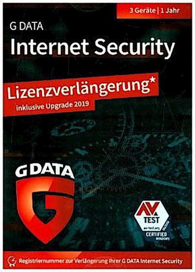 G Data InternetSecurity 2019 UPG 3 PC