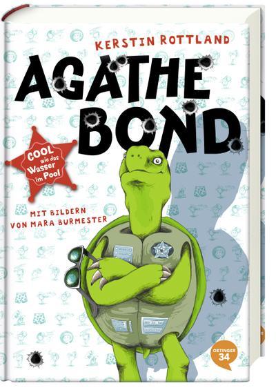 Agathe Bond. Cool wie das Wasser im Pool; Band 1; Ill. v. Burmester, Mara; Deutsch
