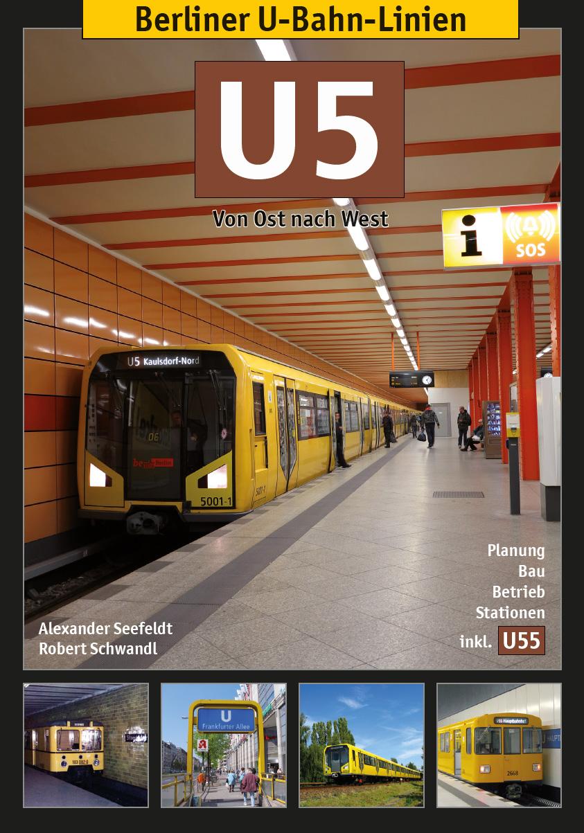 Berliner U-Bahn-Linien: U5 Alexander Seefeldt