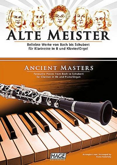 Alte Meister für Klarinette in B und Klavier / Orgel