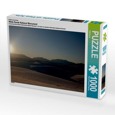 Ein Motiv aus dem Kalender White Sands National Monument (Puzzle)