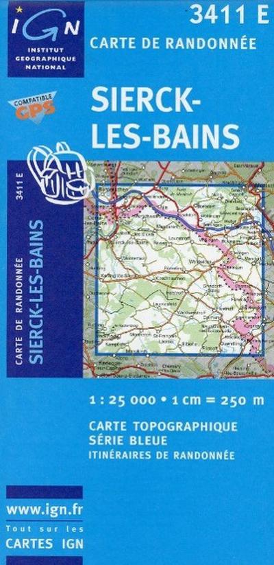 Sierks Bains 1 : 25 000