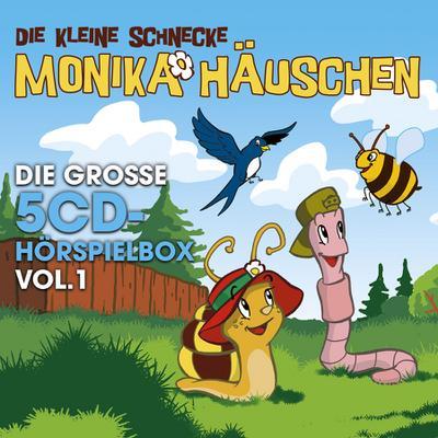 Die kleine Schnecke Monika Häuschen - Die große 5-CD Hörspielbox Vol. 1