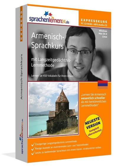 Sprachenlernen24.de Armenisch-Express-Sprachkurs. CD-ROM
