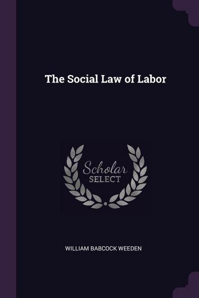 The Social Law of Labor