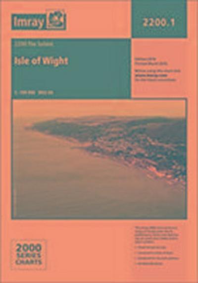 Imray Chart 2200.1 Isle of Wight