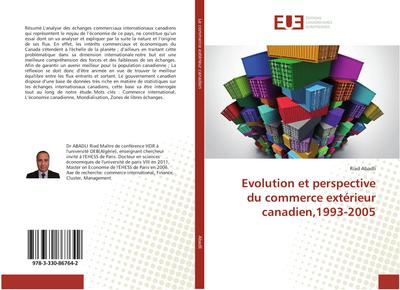 Evolution et perspective du commerce extérieur canadien,1993-2005