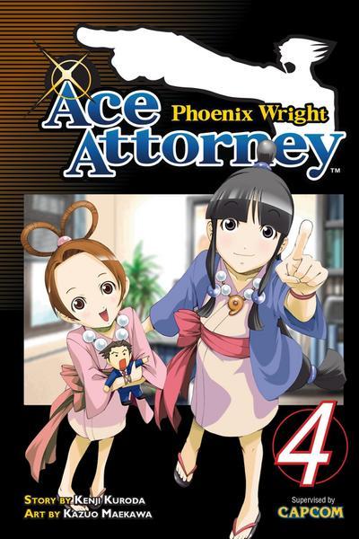 Phoenix Wright: Ace Attorney, Volume 4