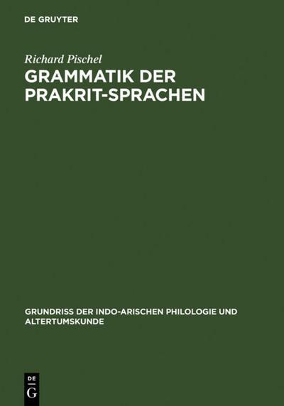 Grammatik der Prakrit-Sprachen