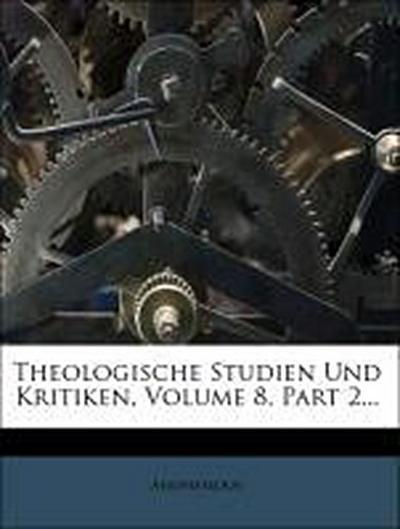 Theologische Studien und Kritiken, Jahrgang 1835, drittes Heft