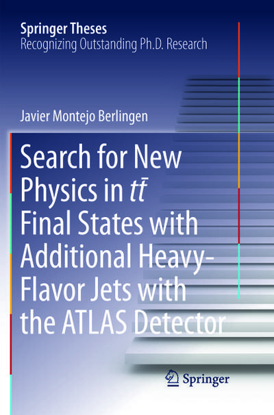 Search for New Physics in tt ¯ Final States with Additional Heavy-Flavor Jets with the ATLAS Detector