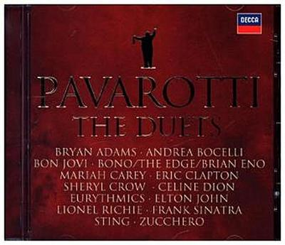 Best of Pavarotti & Friends - The Duets, 1 Audio-CD