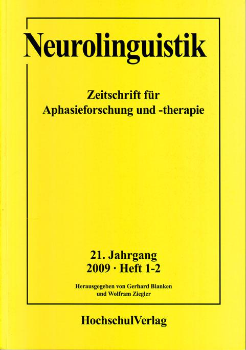Neurolinguistik | Gerhard Blanken |  9783810766397