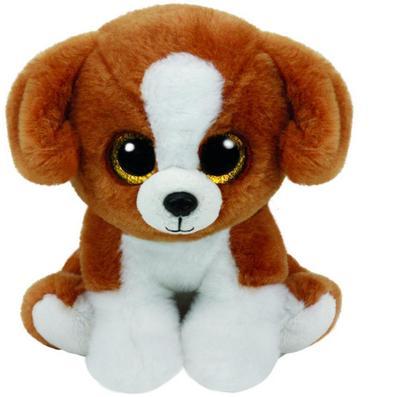 Snicky, Hund braun weiss 33cm
