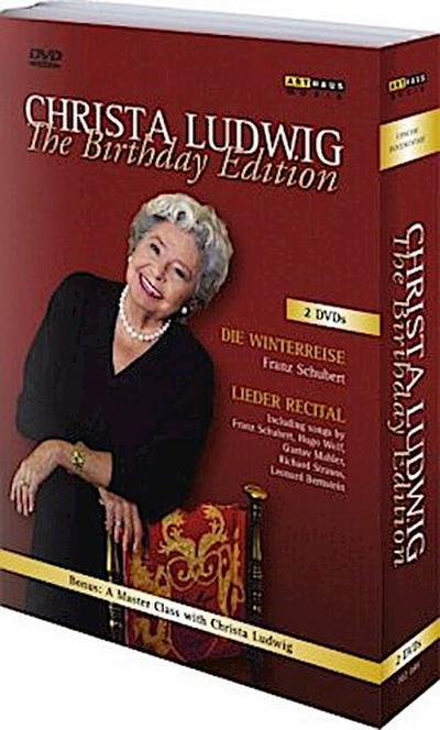 Christa Ludwig - The Birthday Edition, 2 DVDs