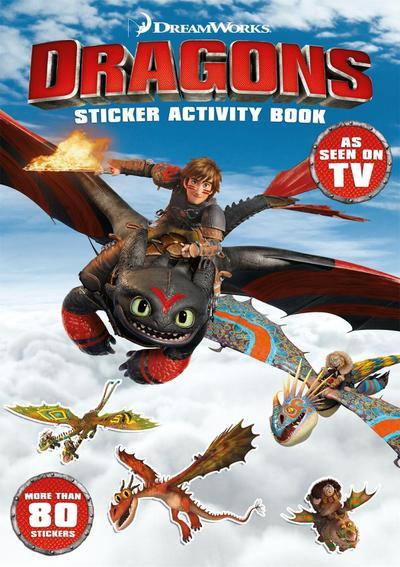DreamWorks Dragons: Sticker Activity Book