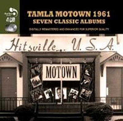 Tamla Mowtown 1961-7 Classic Albums