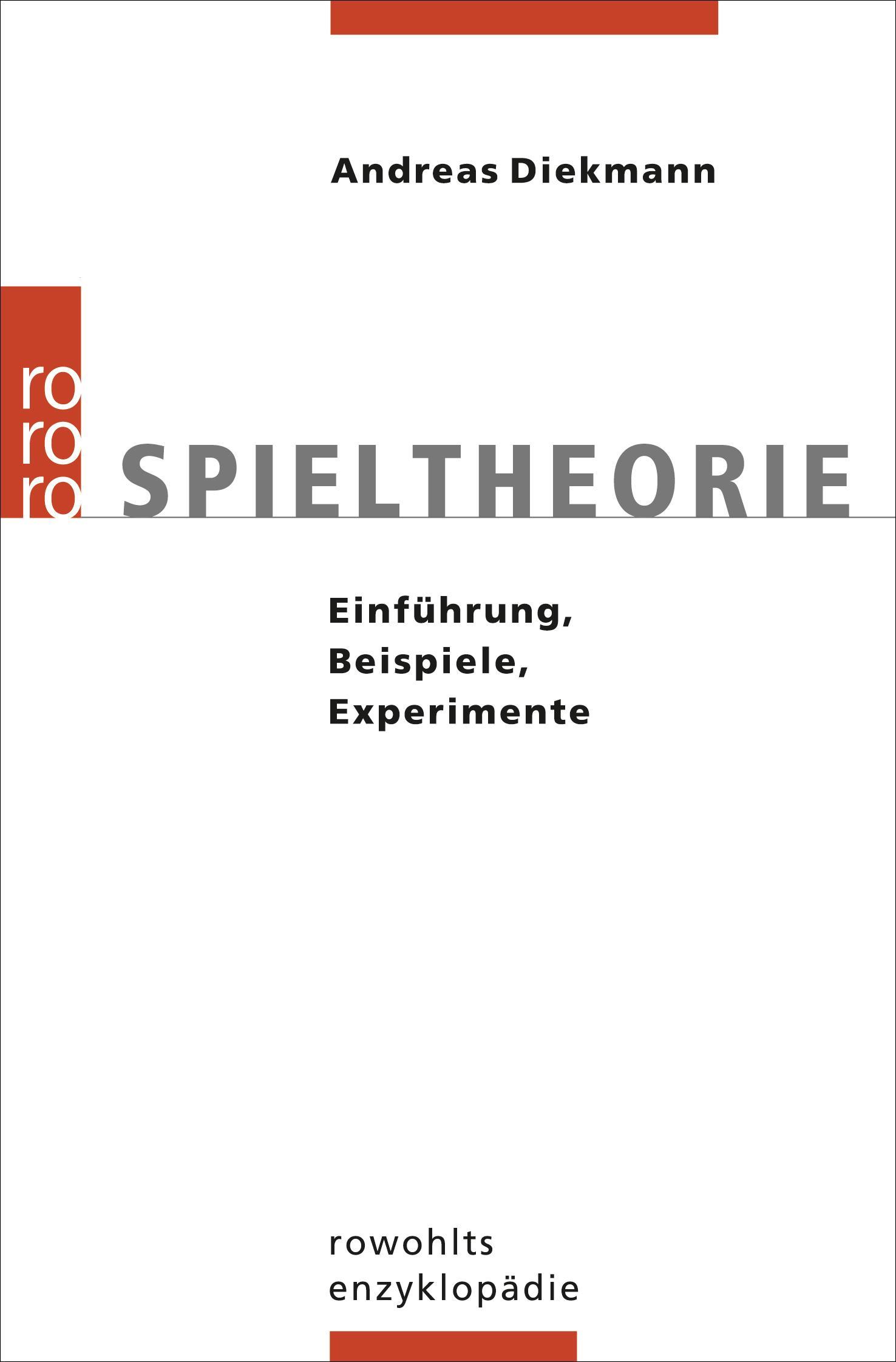 Andreas Diekmann , Spieltheorie ,  9783499557019