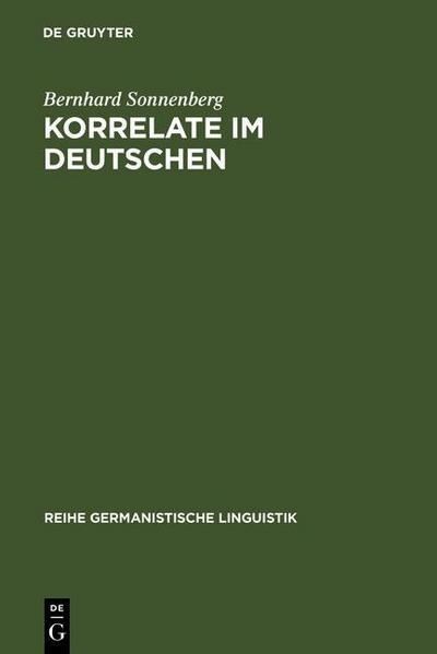 Korrelate im Deutschen